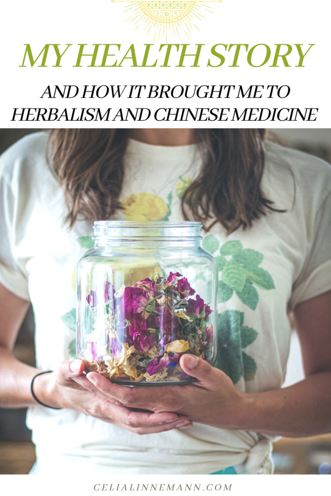 my health story and how it led me to herbalism