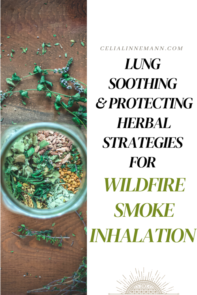 wildfire smoke herbs