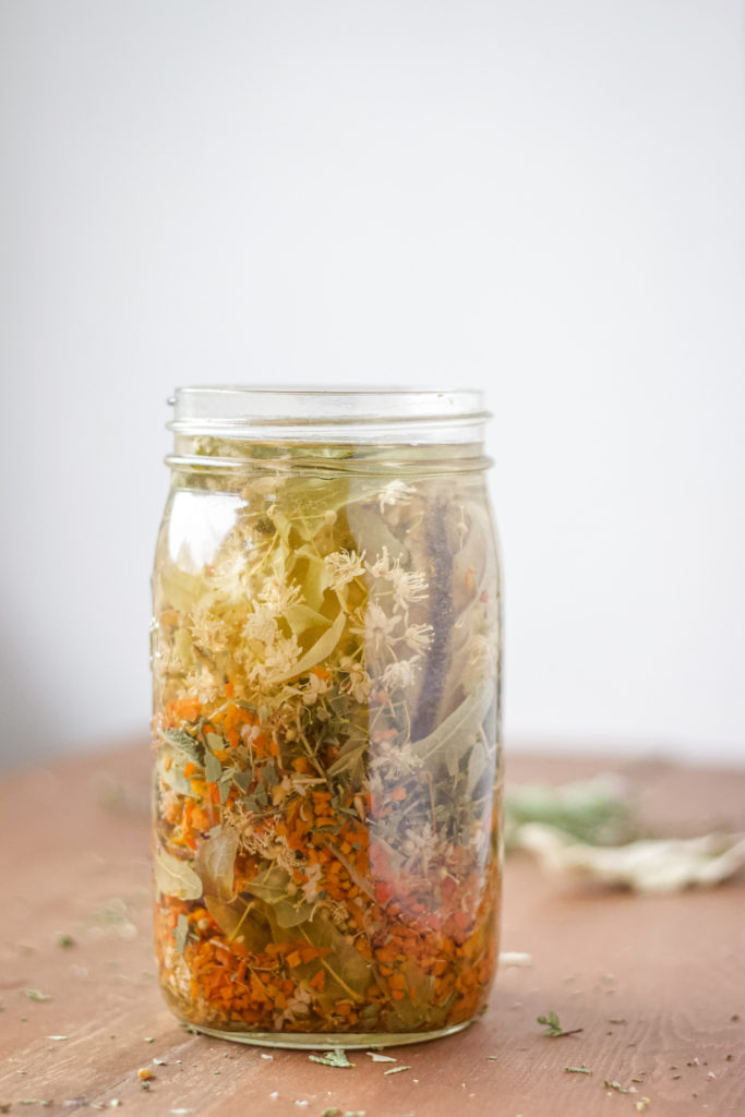 linden rose hip tea