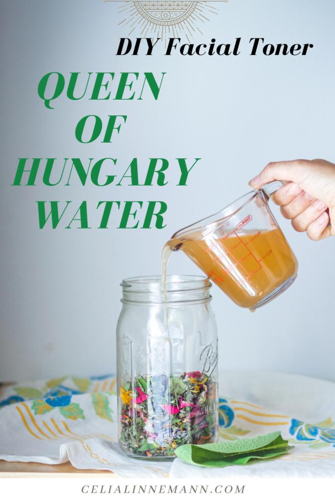 queen of hungary water recipe