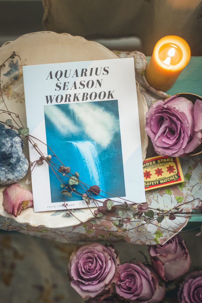 aquarius season embodiment guide on altar