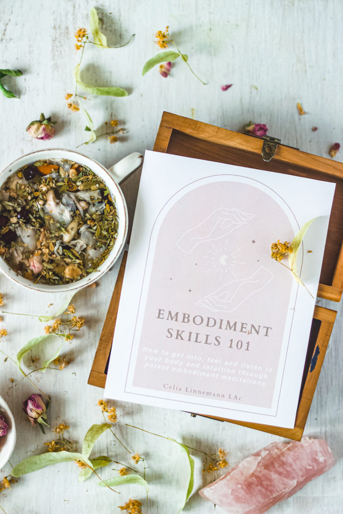 embodiment skills guide and tea cup