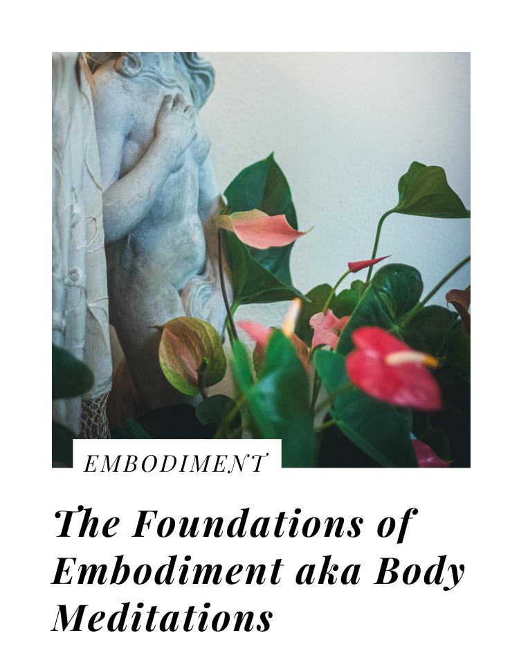 foundations of embodiment practice