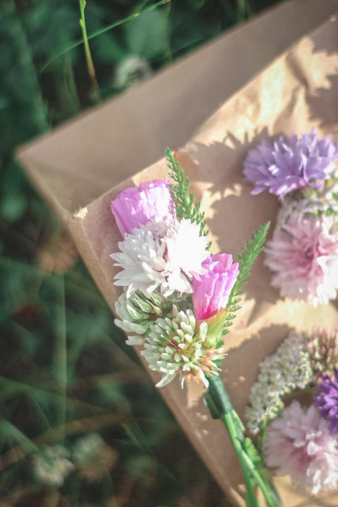 flower crown bouquets