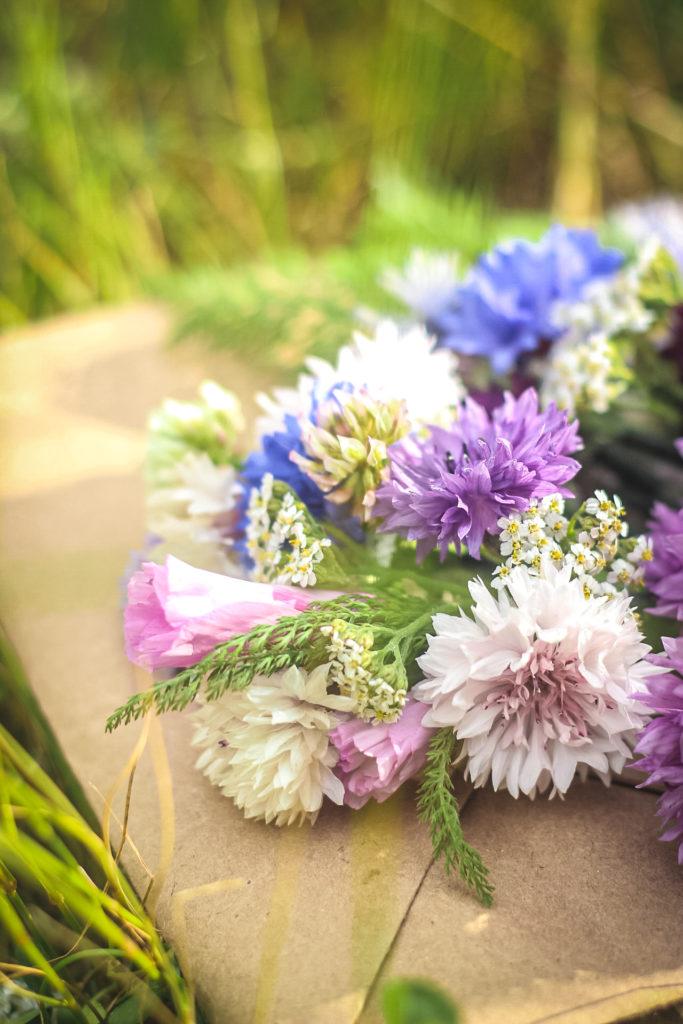 flower crown flowers
