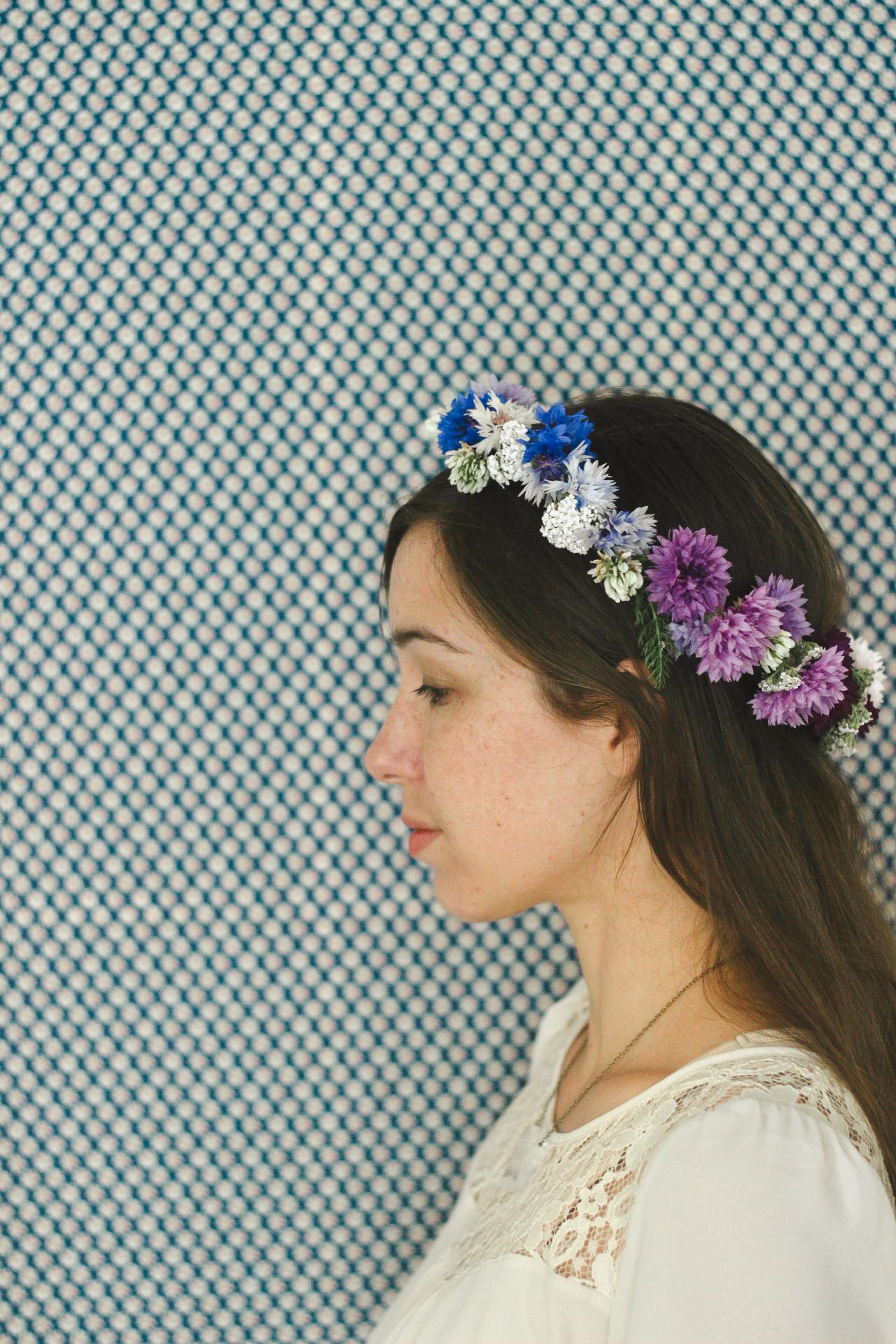 flower crown real flowers