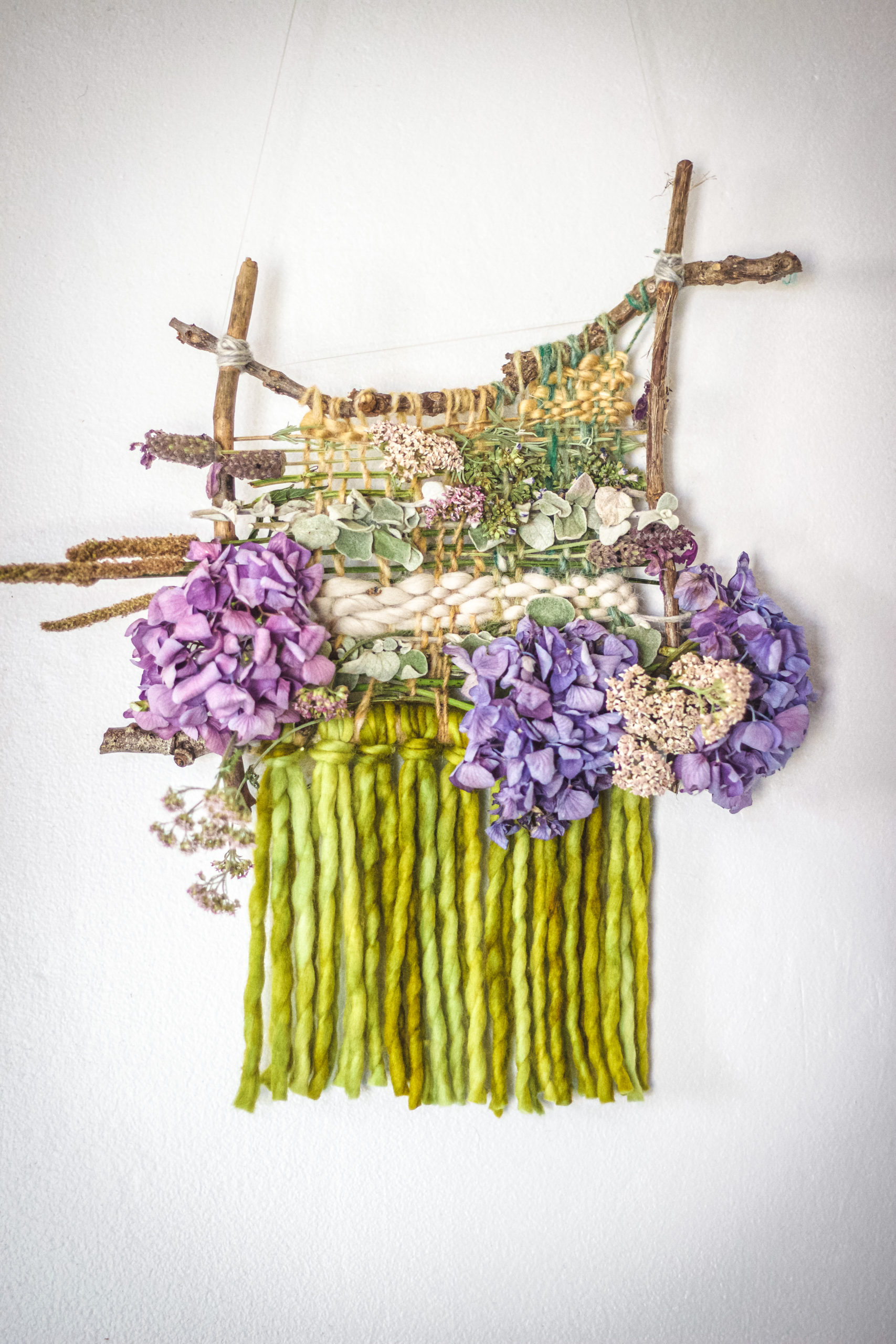 nature weaving project